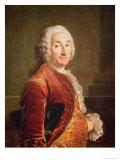 Louis Francois Armand de Vignerot du Plessis Giclee Print by Louis M. Tocque