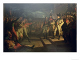 The Oath of the Sassoni to Napoleon Bonaparte Giclee Print by Pietro Benvenuti