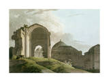 Ruins of the Palace at Madurai, Engraved by Thomas and William Giclee Print by Thomas & William Daniell