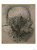 Head of St. Andrew, Study For The Transfiguration, c.1519-20 Reproduction proc&#233;d&#233; gicl&#233;e par Raphael 