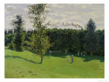 The Train in the Country, c.1870-71 Giclee Print by Claude Monet
