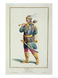 Leel V, from Receuil Des Estampes, c.1780 Giclee Print by Pierre Duflos