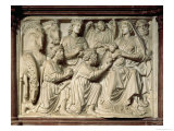 Relief Depicting the Adoration of the Magi from the Pulpit, 1260 Giclee Print by Nicola Pisano