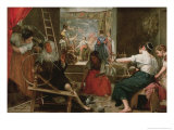 The Spinners, or the Fable of Arachne, 1657 Giclée-Druck von Diego Velázquez
