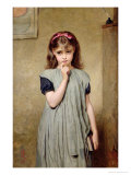 Young Girl in the Classroom, 1876 Giclee Print by Charles Sillem Lidderdale