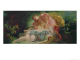 Cephalus and Procris Giclee Print by Jean-Honoré Fragonard