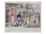 Unfortunate Discovery, Fashionable Bores, or Coolers in High Life, by Peter Quiz, Pub.1824 Giclee Print by Daniel Thomas Egerton