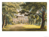 Holly Grove House, from Ackermann's 'Repository of Arts', Published c.1826 Giclee Print by John Gendall