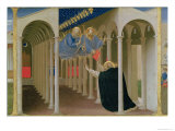 Apparition of Ss. Peter and Paul to St. Dominic, Coronation of the Virgin, c.1430-32 Giclee Print by Fra Angelico