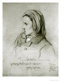 Johannes Brahms Giclee Print by Joseph Bonaventure Laurens