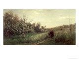 Spring, 1857 Giclee Print by Charles-Francois Daubigny