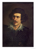 Self Portrait, or Portrait of a Young Man Lámina giclée por Guercino