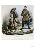 Lithuanian Peasants from the Vilnius Region, c.1830-40 Giclee Print by E. Simon