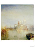 The Dogana and Santa Maria Della Salute, Venice, 1843 Giclee Print by Joseph Mallord William Turner
