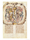 Belial and the Demons, Proces de Belial de J. de Therano Antonius Ruttel de Parmenchingen, 1450 Giclee Print