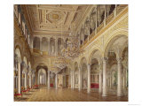 The Pavilion Hall, the Small Hermitage, 1864 Giclee Print by Eduard Hau