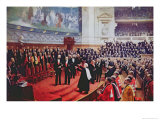 The Jubilee of Louis Pasteur Giclee Print by Jean Andre Rixens