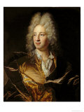 Portrait Presumed to Be Louis-Alexandre de Bourbon Giclee Print by Hyacinthe Rigaud