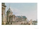 View of the College Des Quatre Nations, Paris, c.1810 Giclee Print by Victor Jean Nicolle