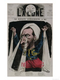 The Zouave Healer, from La Lune, 1868 Giclee Print by André Gill