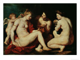 Venus, Cupid, Bacchus and Ceres, 1613 Giclee Print by Peter Paul Rubens