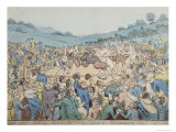 The Last Milling Match Between Cribb and Molineaux, September 28th 1811 Giclee Print by Thomas Rowlandson