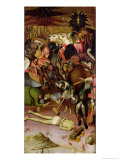 The Decapitation of St. George, Panel from an Altarpiece, c.1435 Giclee Print by Bernardo Martorell