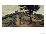 Saint-Andre-En-Morvan, 1842 Giclee Print by Jean-Baptiste-Camille Corot