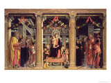 Altarpiece of St. Zeno of Verona, 1456-60 Giclee Print by Andrea Mantegna