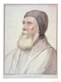 Portrait of John Russell 1st Earl of Bedford Impression giclée par Hans Holbein the Younger