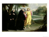 Scene from the Life of St. Benedict Giclee Print by Philippe De Champaigne