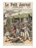 Bandits in the Orient: Arrests on a Train, from Le Petit Journal, 20th June 1891 Giclee Print by Henri Meyer
