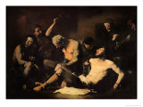 The Torture of Alonso Cano Giclee Print by Théodule Augustin Ribot