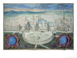 The Palace of the Dukes of Burgundy in Dijon Before Restoration by Mansart, 1698 Giclee Print by Jules Hardouin Mansart