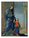 St. Anne Leading the Virgin to the Temple, c.1635-45 Giclee Print by Jacques Stella
