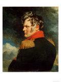 Portrait of General Alexei Yermolov Giclee Print by George Dawe
