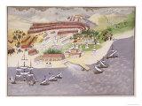 Battle of Nauplia, Plate 14 Pictorial History of the Greek War of IndependenceGeneral Makryjannis Giclee Print