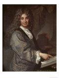 Nicolas Boileau Giclee Print by Jean-Baptiste Santerre