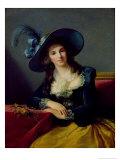 Antoinette-Elisabeth-Marie D'Aguesseau Giclee Print by Elisabeth Louise Vigee-LeBrun