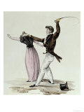 The Art of Making Oneself Loved by One's Wife, c.1825 Giclee Print by Hippolyte