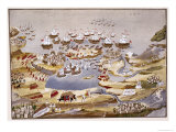 Siege and Naval Battle, Plate13, Pictorial History of the Greek War of Independence Giclee Print
