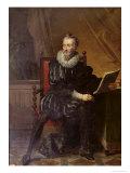 Portrait of Francois de Malherbe Giclee Print by Robert Lefevre
