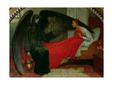 The Young Girl and Death, c.1900 Giclee Print by Marianne Stokes