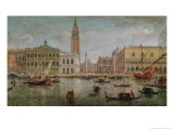 View of Venice, 1719 Giclee Print by Vanvitelli (Gaspar van Wittel)
