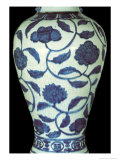 Large Blue and White Vase, Jaijing Period, 1522-66 Giclee Print by Ming Dynasty Chinese School