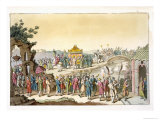 Taoist Traditional Wedding, Le Costume Ancien et Moderne, c.1820-30 Giclee Print by Giovanni Bigatti