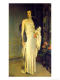 Portrait of Loelia, Duchess of Westminster, Now Lady Lindsay Giclee Print by Glyn Warren Philpot