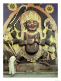Relief of Kali in Durbar Square Giclee Print
