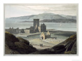 Cathedral at Iona, c.1817 Giclee Print by Thomas & William Daniell