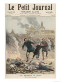 Massacre in China, from Le Petit Journal, 19th December 1891 Giclee Print by Henri Meyer